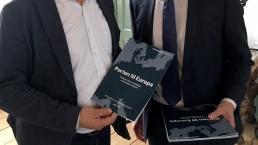 Direktør Leif Friis Jørgensen og Transportminister Ole Birk Olesen