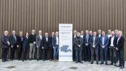 Billede af medlemmerne af UdviklingsRåd Sønderjylland.