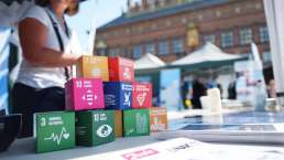 Sustainable Global Goals Cubes
